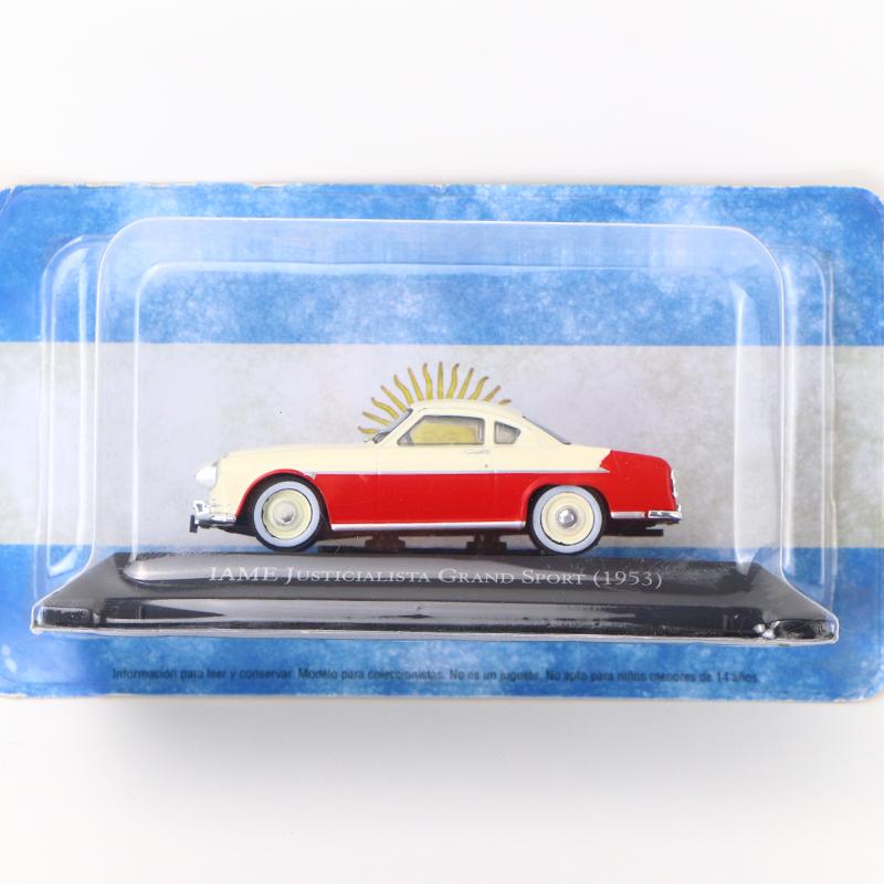 1//43 IXO IAME JUSTCIALIST GRAND SPORT 1953 Diecast Auto Modell seltene Kollektio