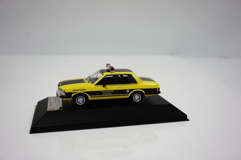 1//43 CAR MODEL FORD DEL REY Ouro Policia Militar Rodoviaria IXO PREMIUM X PRD239