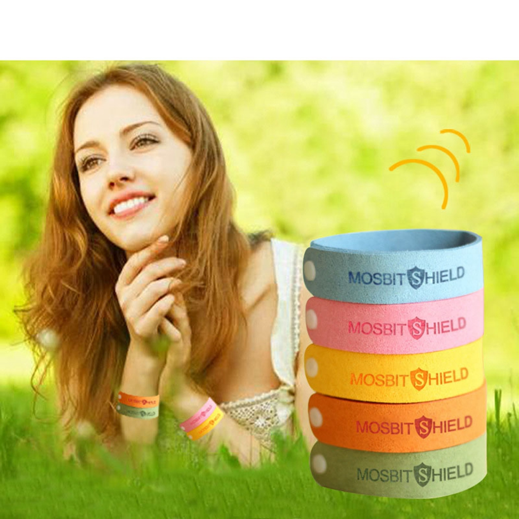 1 Pc Bracelet Anti Mosquito Mozzie Insect Bugs Repellent Repeller Wrist Bands