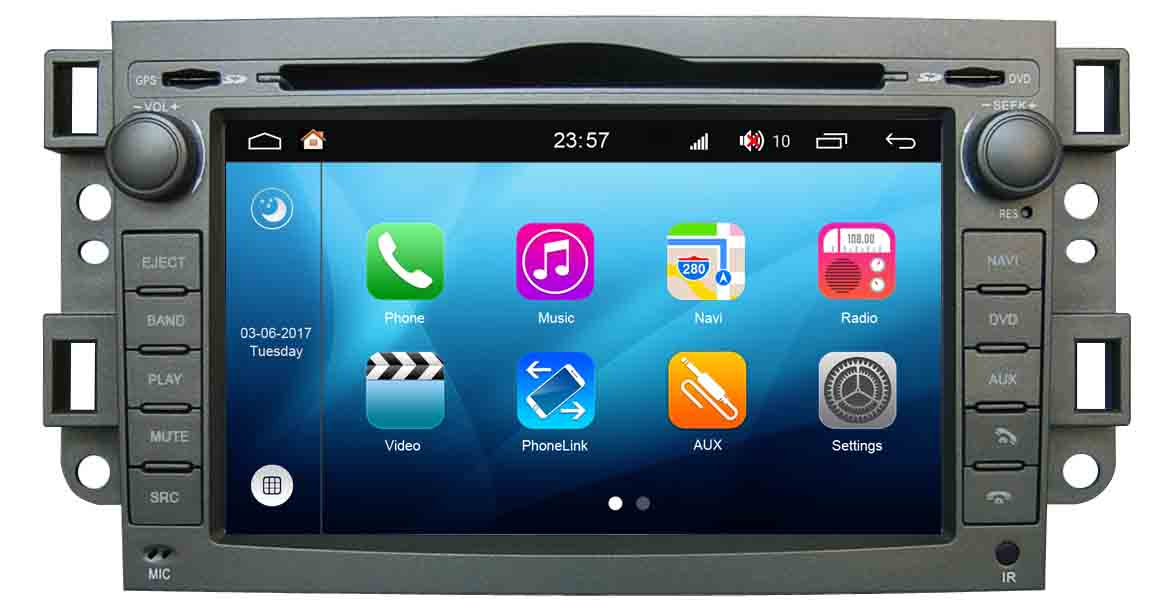 Android 80 Car Gps Navigation Dvd Radio For Chevrolet Lovaaveo