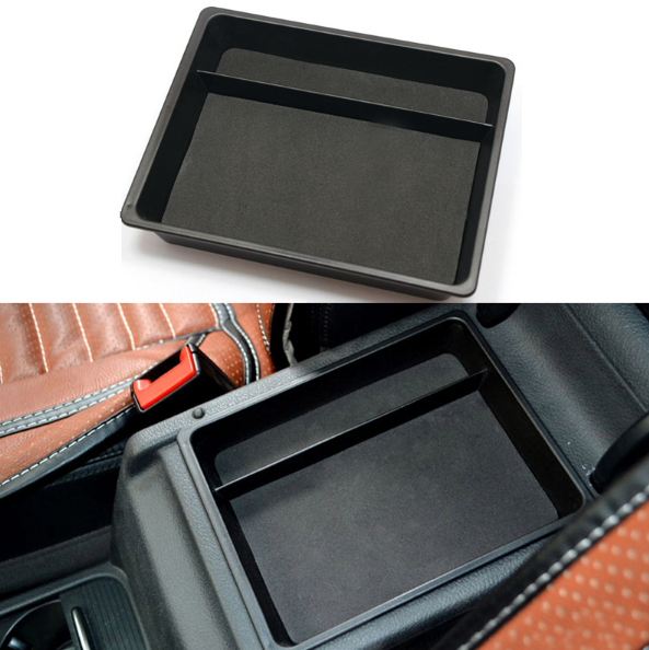 For Subaru Forester 2014-2018 Car Storage Center Console Armrest  Tray Box