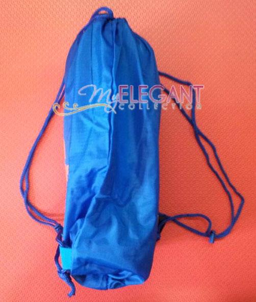 bc830d913c Adidas MARTIAL ARTS Gear Gym Sports Tote Drawstring Pack Nylon Sling Bag  Blue