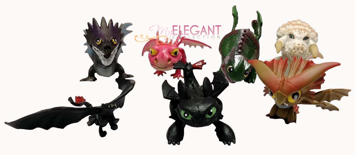 How To Train Your Dragon 2 Night Fury Toothless Skrill 7