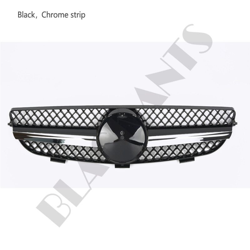 Chrome Auto Front Grill Grille Mesh For Mercedes Benz B: Front Grilles Mesh For Mercedes-Benz CLK W209 03-09