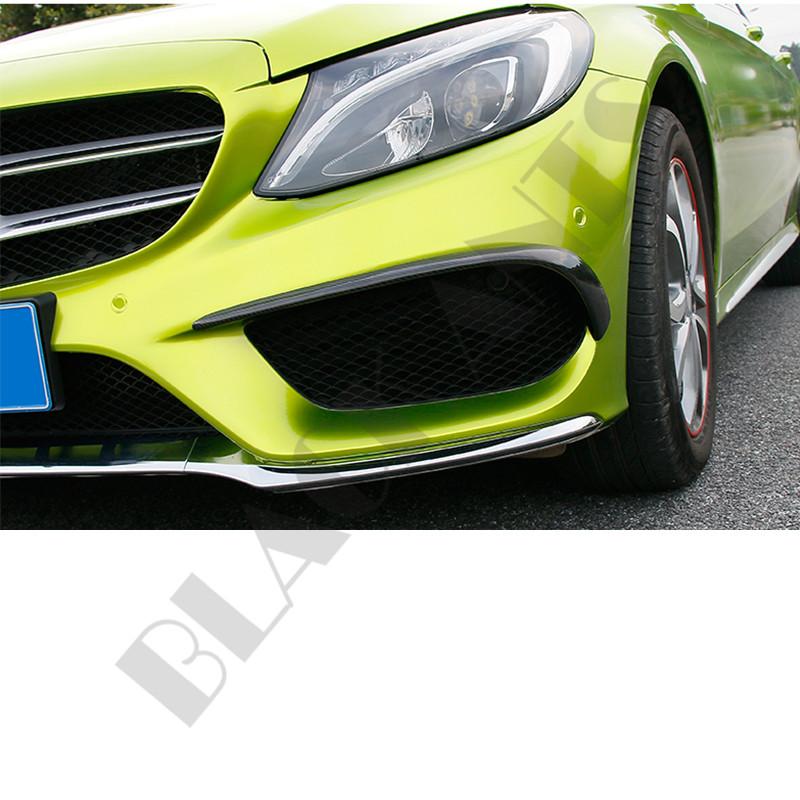 Front Bumper Cover Trim For 14-17 Mercedes Benz w205 C-Class C300 C350 C200 C180