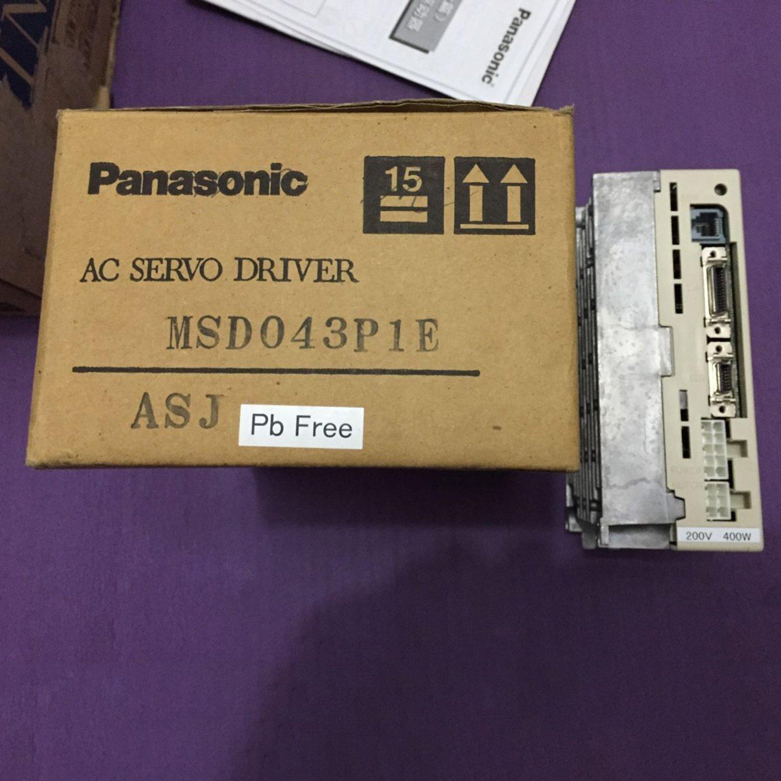 Panasonic Uesd MSD011A1XX05 Servo Drive MSD011A1XX05 90 day warranty