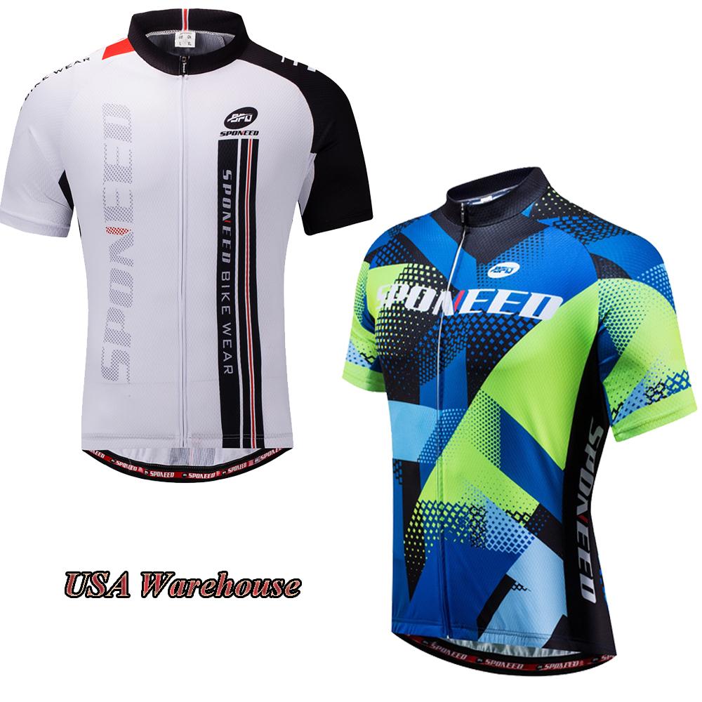 Men/'s Cycling Jersey MTB Team Bike Jerseys Tops Bicycle Clothing T-shirt M-3XL