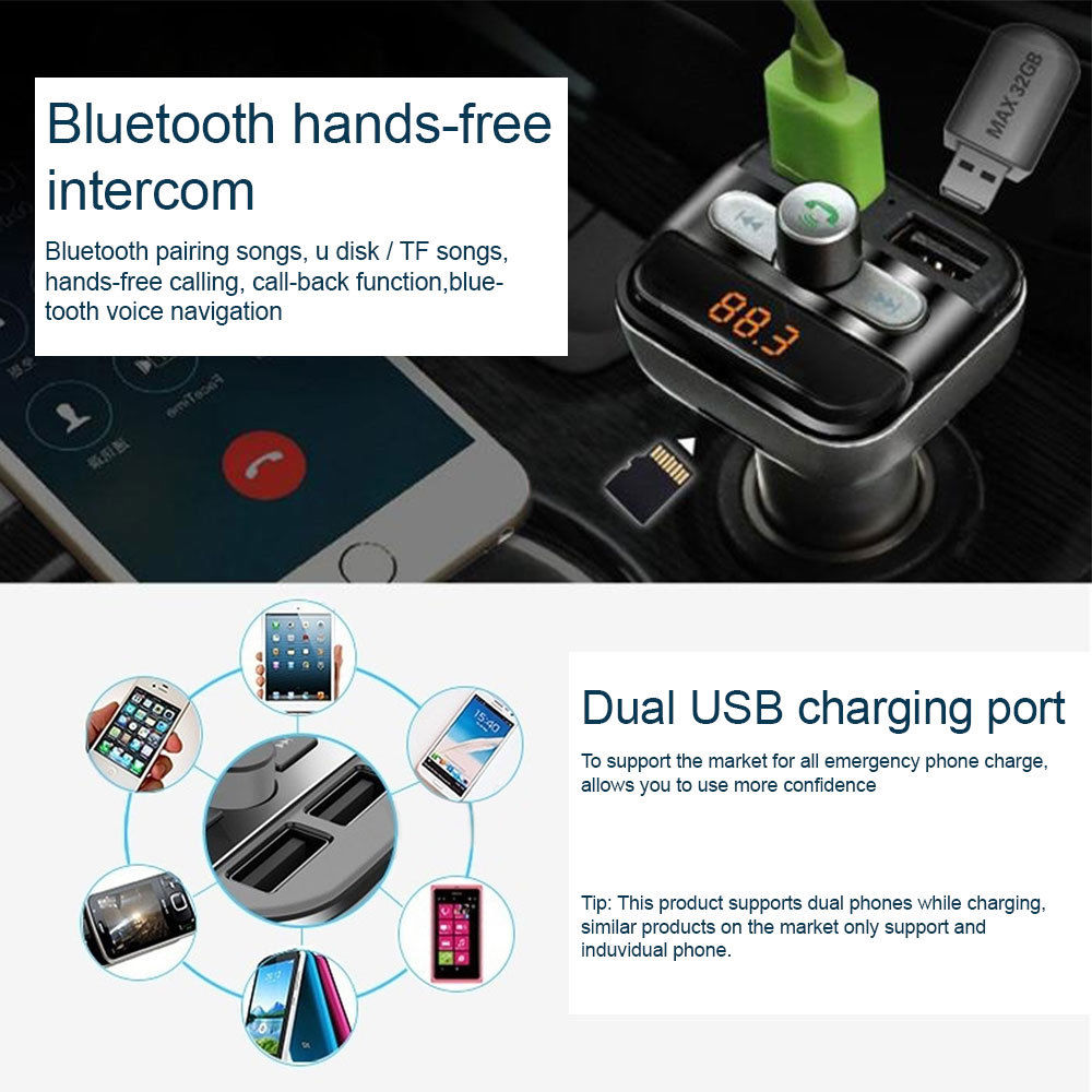 funk bluetooth fm transmitter auto mp3 player usb stick. Black Bedroom Furniture Sets. Home Design Ideas