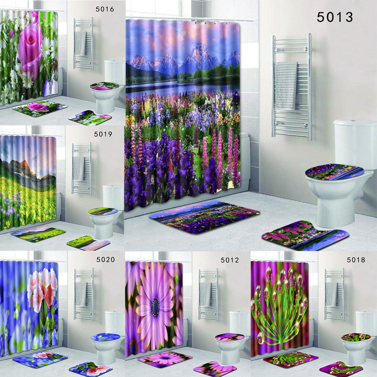 Flower Blossom Lavender Shower
