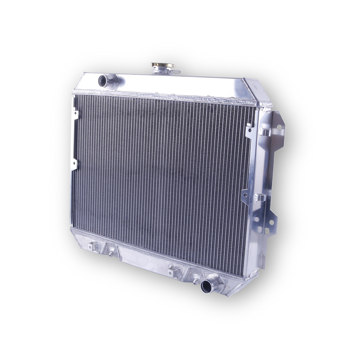 FIT FOR Datsun 75 76-82 All 3 ROWS ALL ALUMINUM RADIATOR