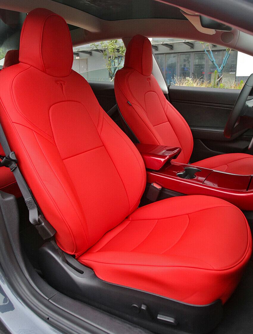 Car Seat Cover Fit for Tesla Model 3 2017-2019 Full Set ...