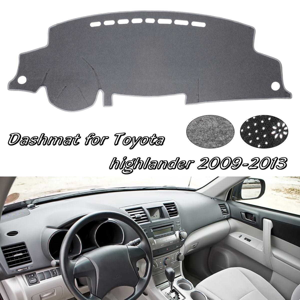 Dashboard Cover Dashmat Dash Mat Sun Shade Pad For Toyota