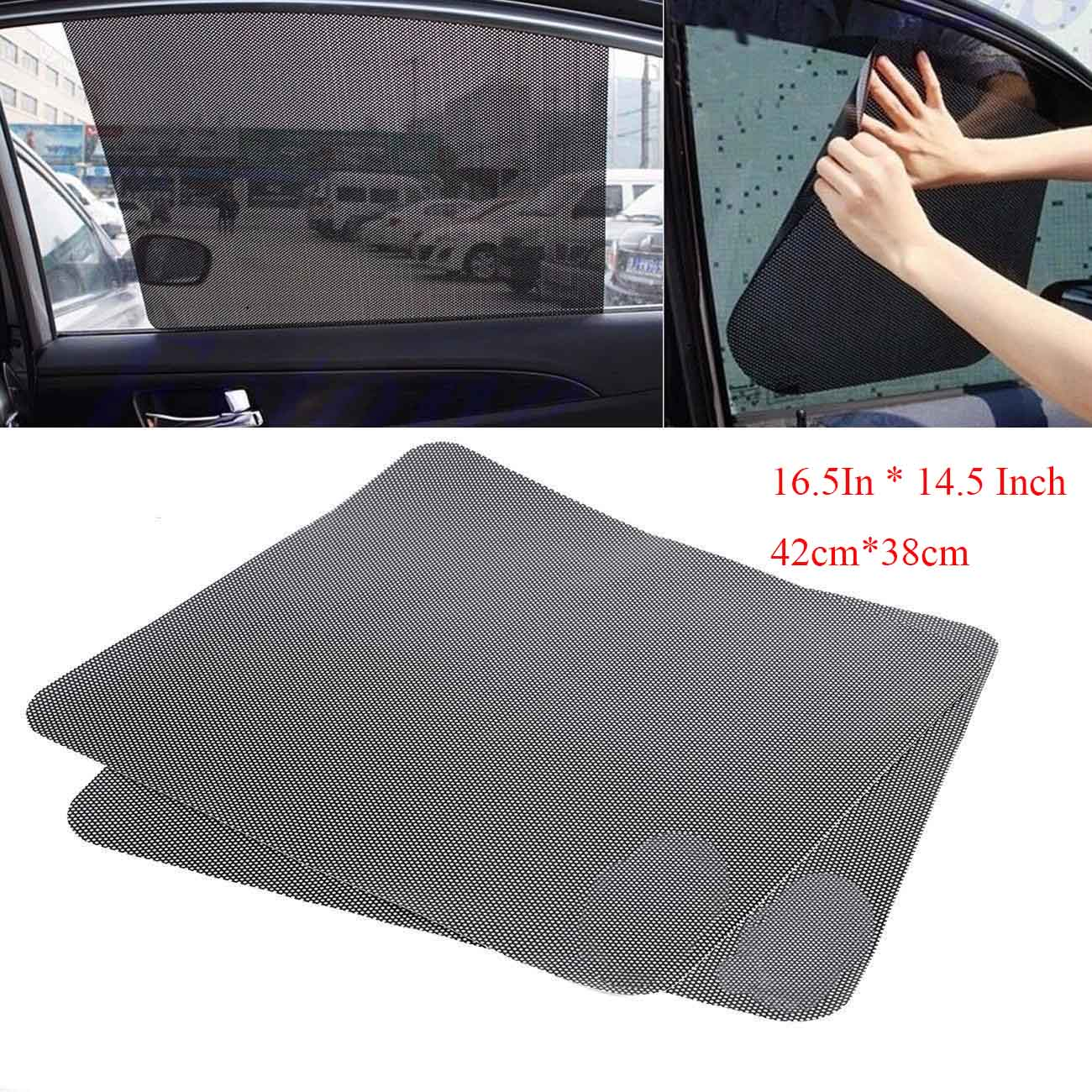 New Style Car  Folding Front Rear Static Shield Car Auto Block Cover Sunshade LS