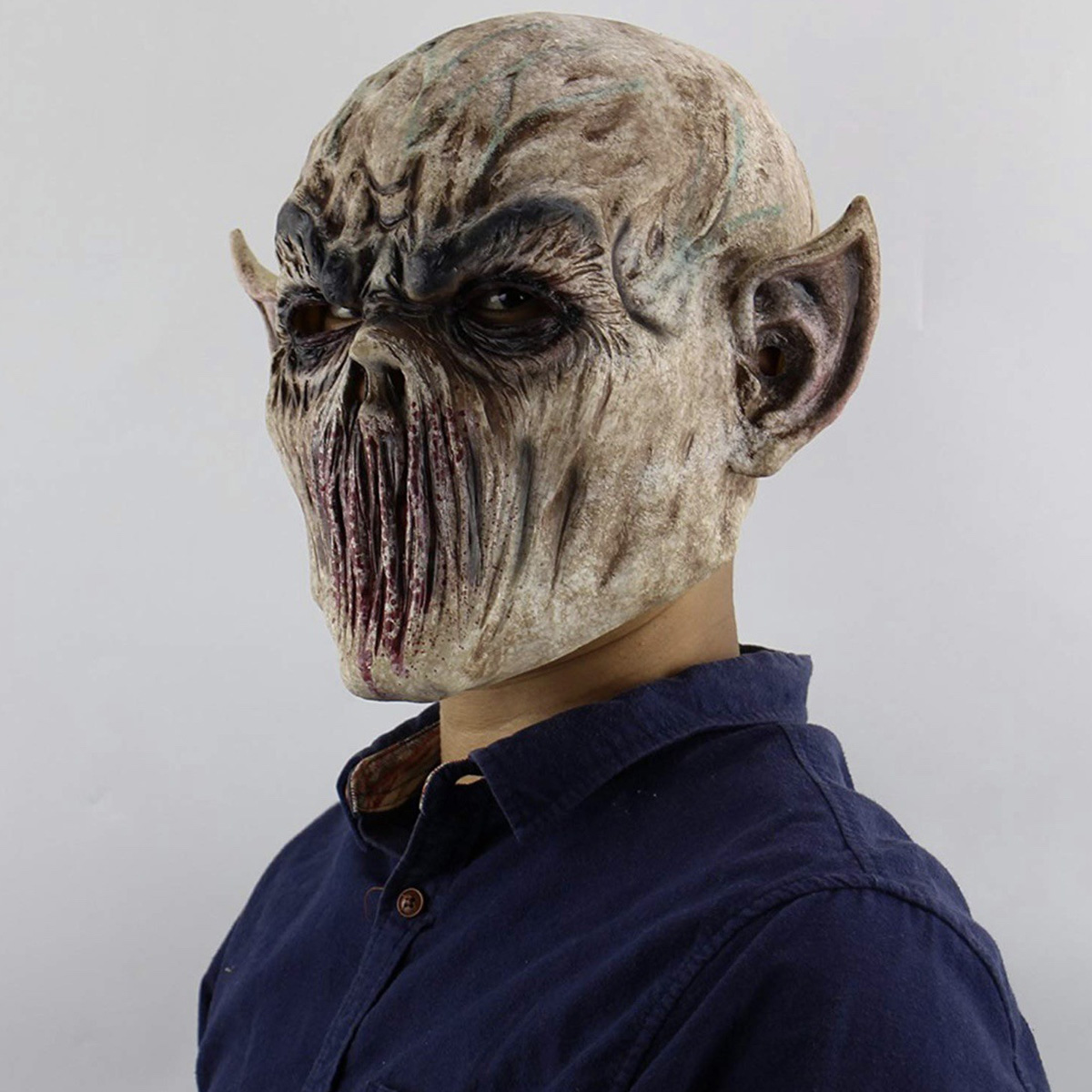 Details about Realistic Zombie Mask Halloween Scary Cosplay Party Costumes  Creepy Masks Hot