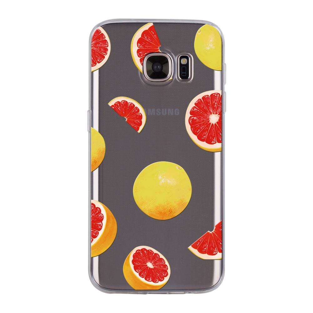 ad59a880bd1 Fashion Fruit Series Soft TPU Phone Case For Samsung S6 S8 S8Plus J7-PRIME  Cover