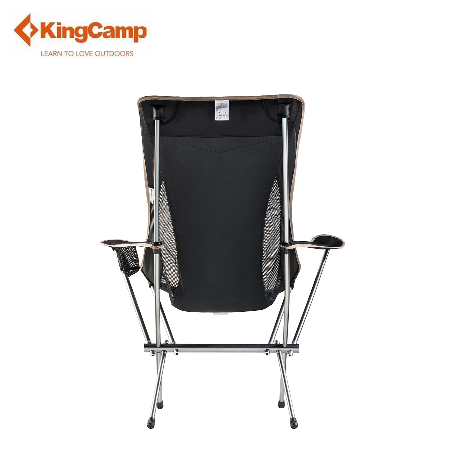 KingCamp 1.7kg Lightweight Lounge Chair Leisure Beach Seat Heavy Duty 265lbs Sporting Goods Camping Furniture