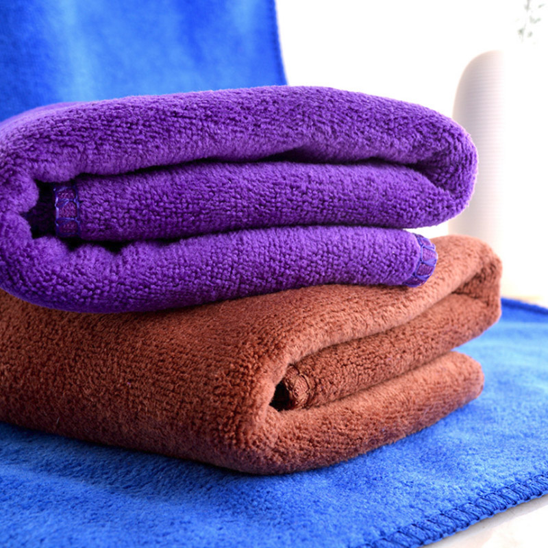 Strong Water Absorbing Microfiber Dry Hair Towel Bathing Shower Dry Towel ER
