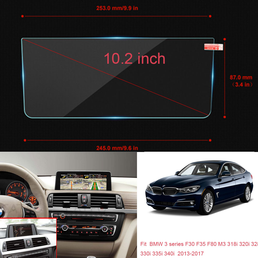 """2013 Bmw 328I Windshield Replacement Cost details about 10.2"""" car gps screen protectors for bmw 3 series f30 330i  335i 340i 2013-2017"""