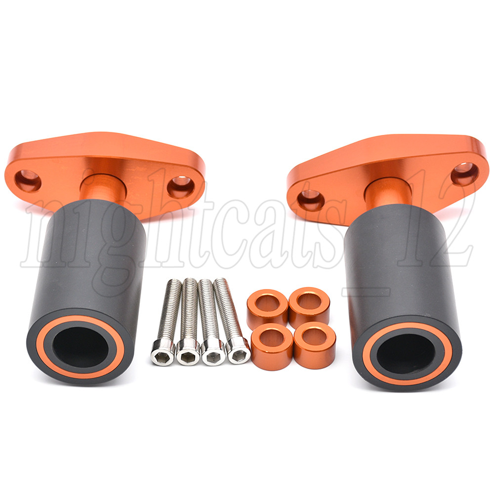 EBIKE Frame Sliders Anti Crash Protector Motorcycle CNC Aluminum for KTM Duke 125 Duke 200 Duke 390
