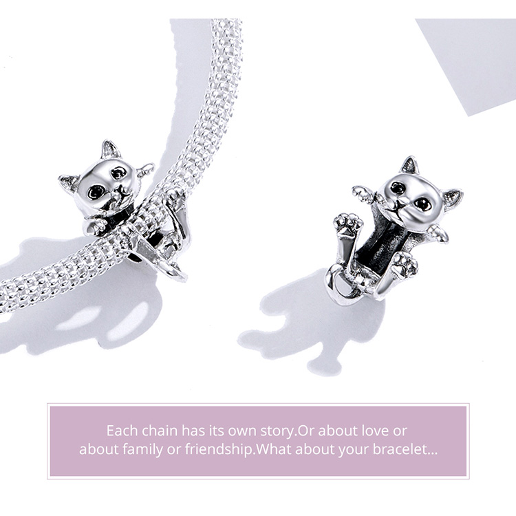 Real S925 Sterling Silver Motorcycle Beads Charms Fit Women Bracelets VOROCO