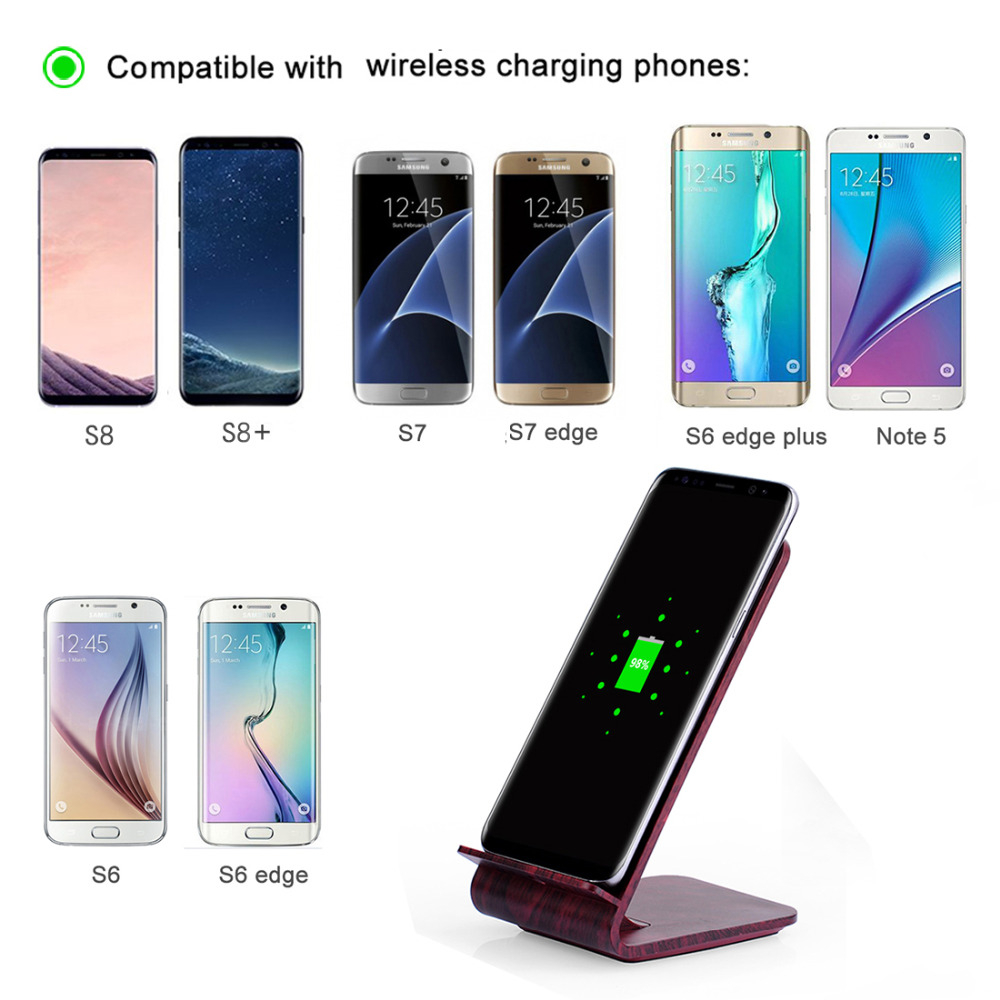 Wooden-Qi-Wireless-Fast-Charger-Charging-Stand-For-Galaxy-NOTE8-S8-S7-iPhone-X-8