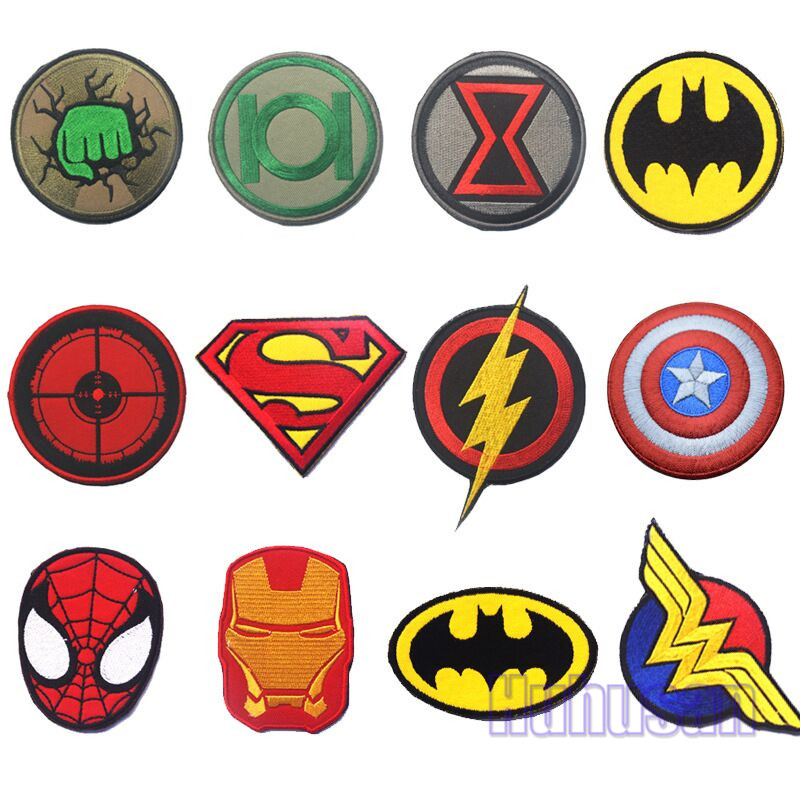 Super Hero Badge Patches Tactical 3d Avengers Badges Patch