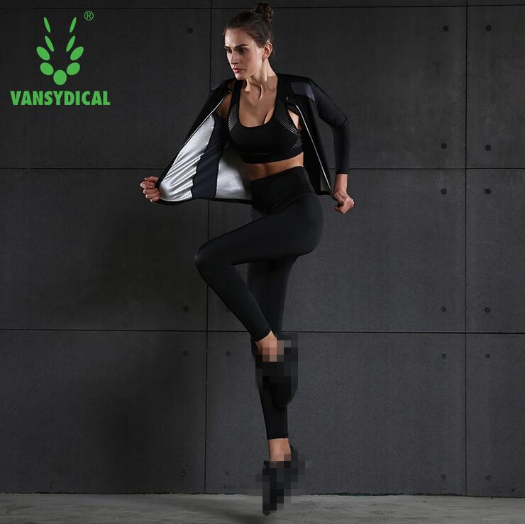 Women/'s Body Shape Sweat Suits Fitness Running Sports Clothes Sauna Suits
