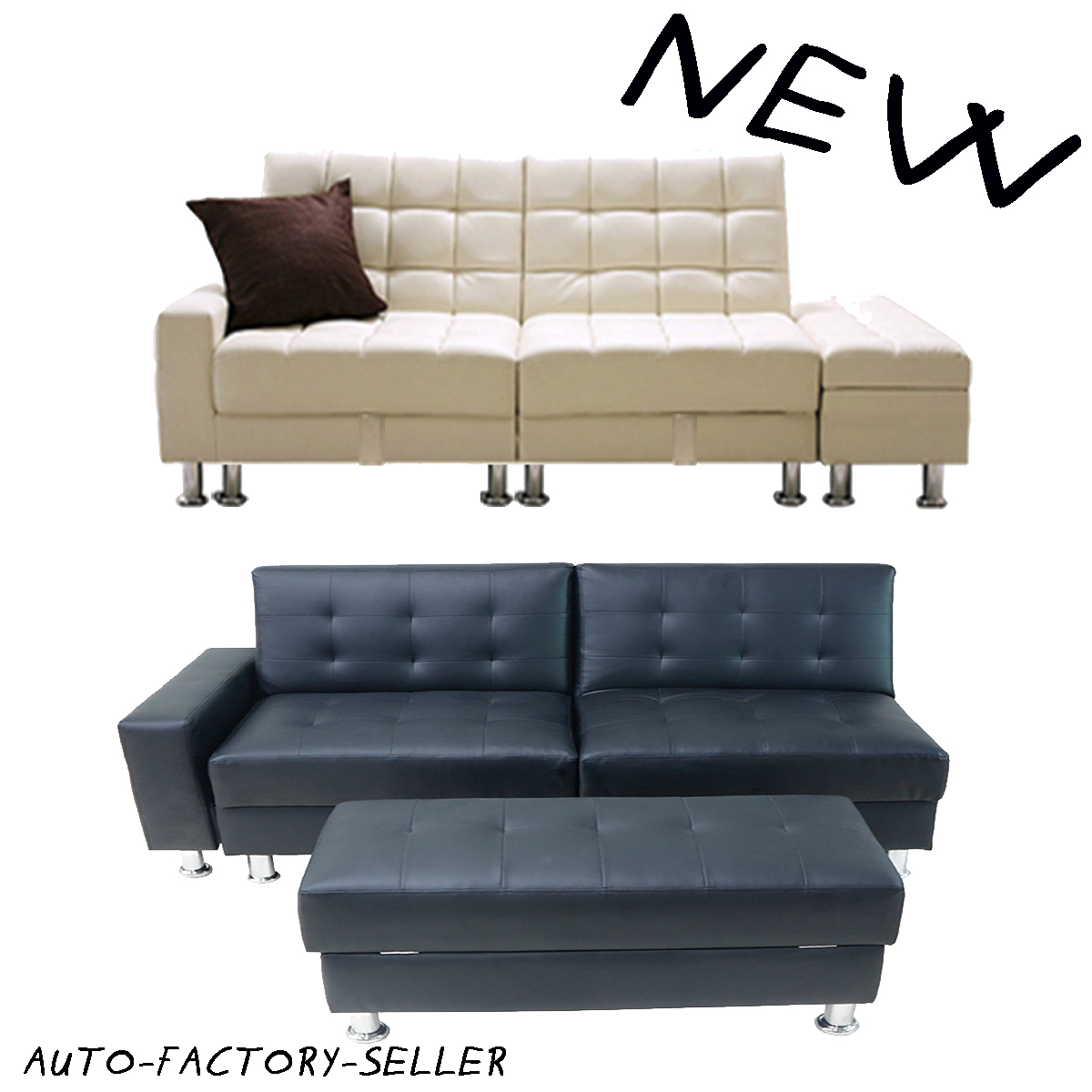 New Style Sofa Bed 3 5 Seater Foldable Storage Sectional Living