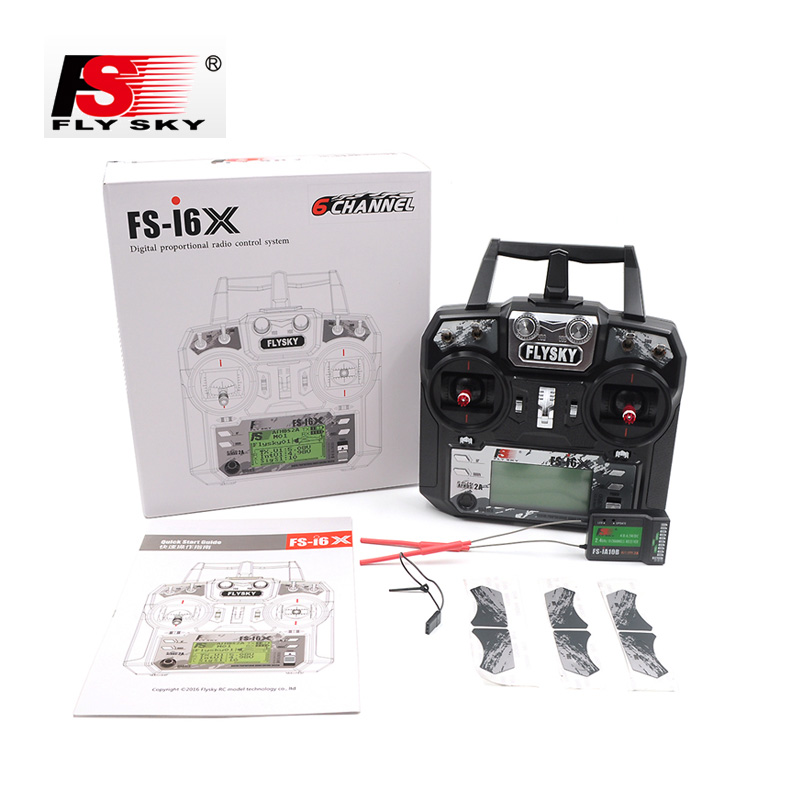 Radio Flysky fs-i6s 2.4ghz AFHDS 2a 10 CH in White No RX from Italy