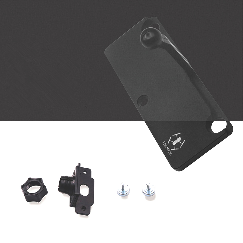 Mounting Bracket For Crystalsky Monitor/&DJI Mavic//Spark Remote Controller