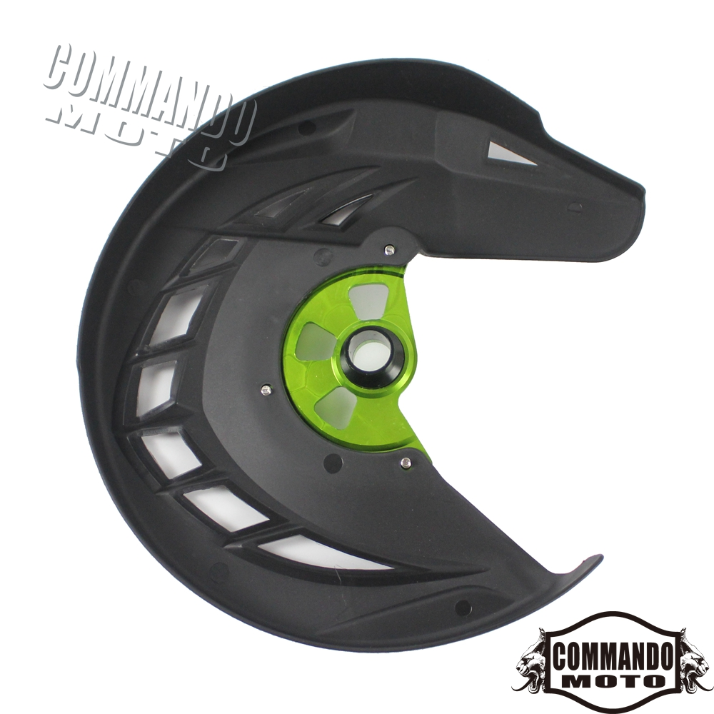Aluminum & ABS Plastic Front Brake Disc Guard Cover For