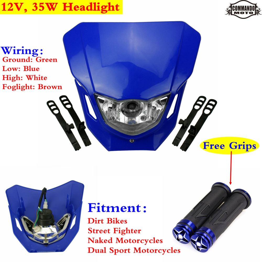 Dirt Bike Headlight Wiring Motorcycle