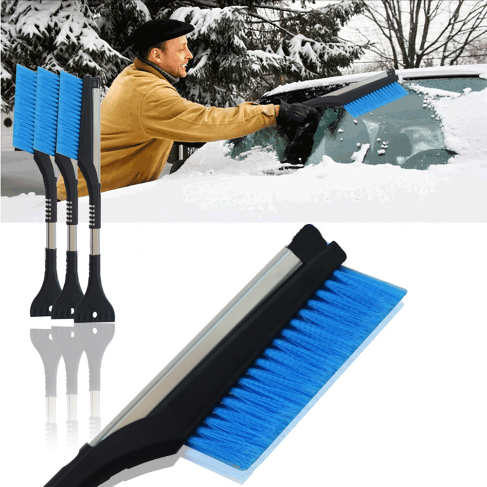 Winter Car Ice Scraper Snow Brush Retractable Window Shovel Removal Brush
