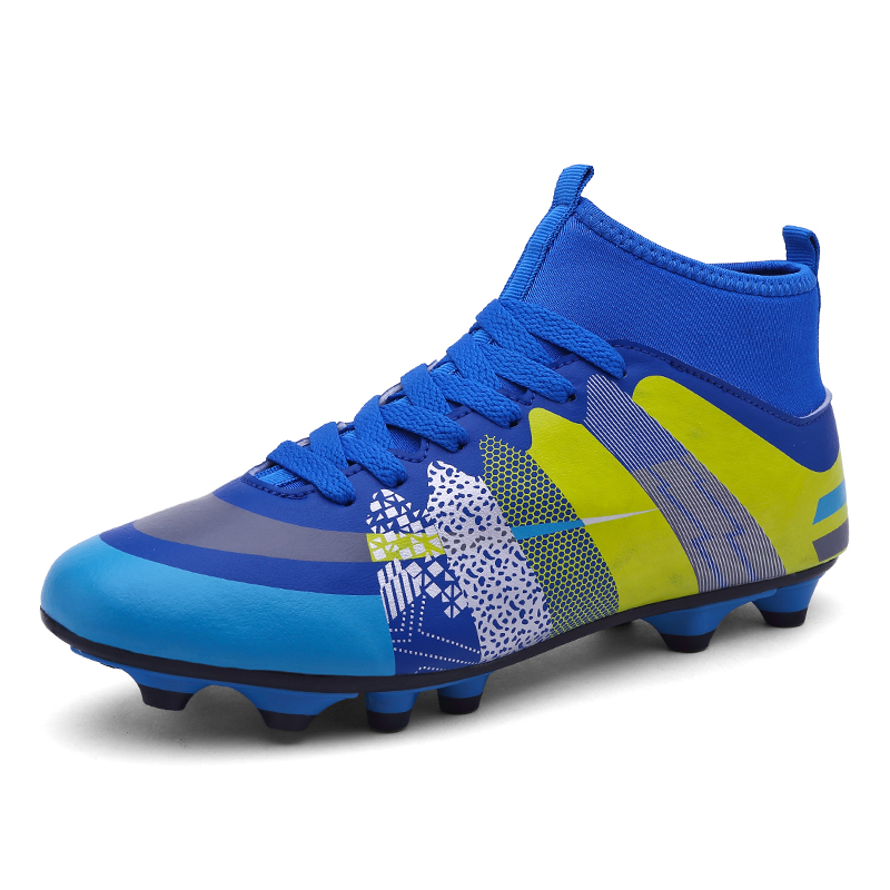 Outdoor Soccer Crampons Bottines AG Chaussures De Football Chaussures Coloré Baskets Sneaker | eBay