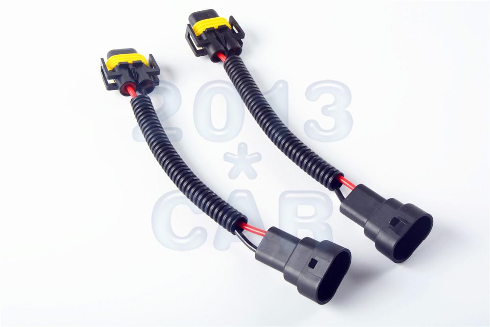 2x 9006 To H11 H8 Fog Light Headlight Conversion Connector
