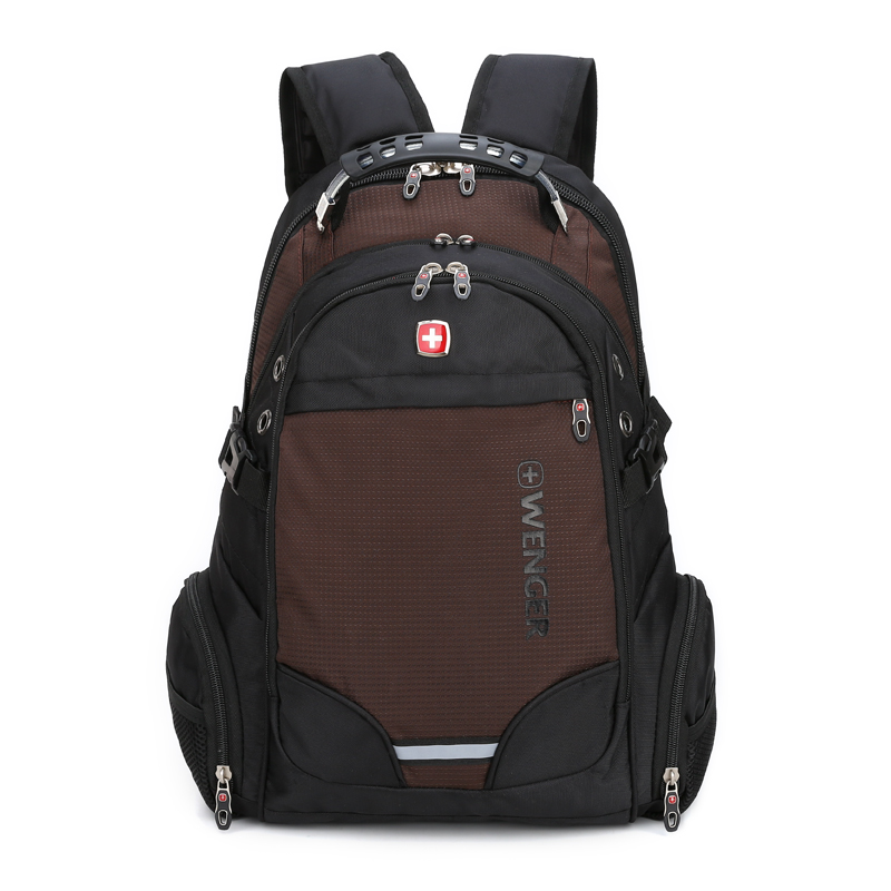 Men/'s Large Capacity Backpack Laptop Bags Nylon College Tide Casual School Bag