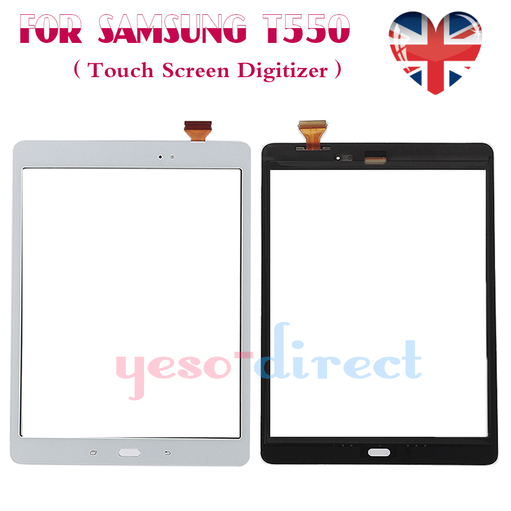 "Samsung Galaxy Tab A SM-T550 9.7/"" Touch Screen Digitizer Glass White"