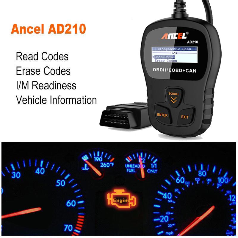 KW590 OBDII Car Engine Fault Code Reader Scanner Diagnostic OBD2 Scan Tool GA