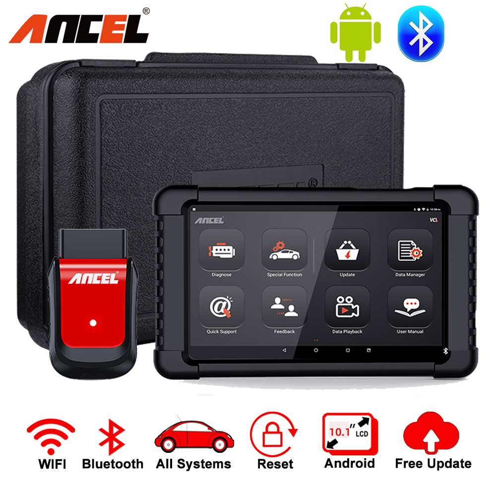 Automotive Scan Tool >> Details About Wireless Bluetooth Obdii Full Systems Scanner Tablet Automotive Diagnostic Tools