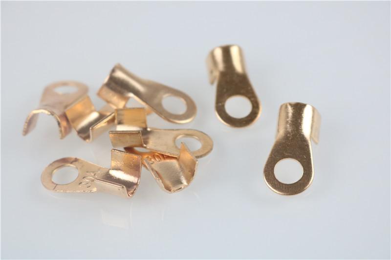 20pcs/lot OT 30A 6mm Dia Copper Circular Splice Terminal