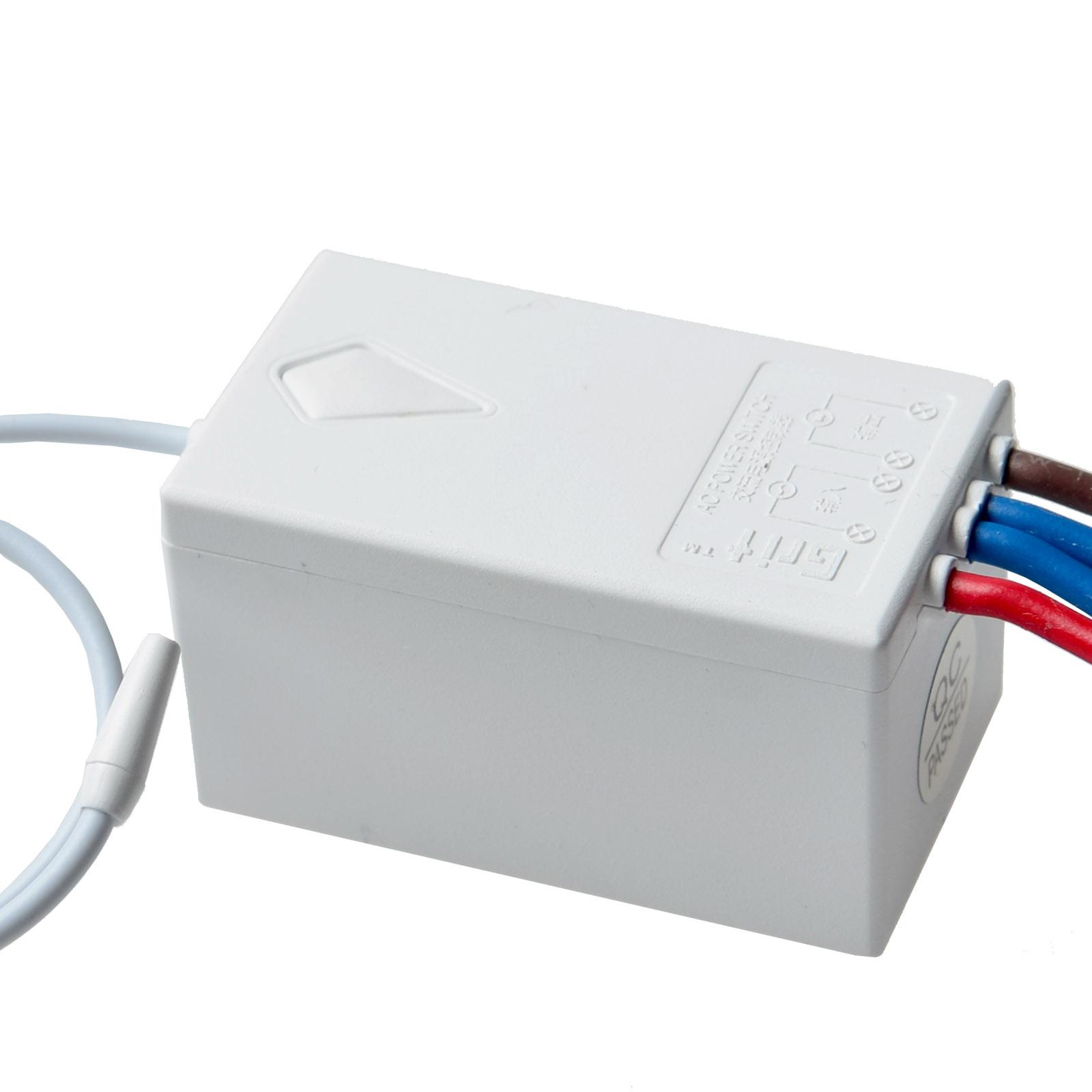 WIRELESS SMART LAMP Light Wall Switch Home Single 1 Way ON/OFF ...