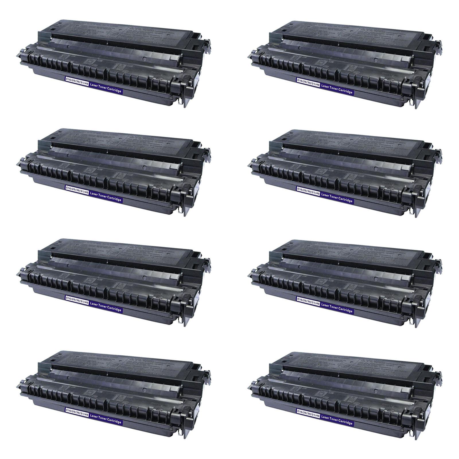 8pk E40 Toner Cartridge For Canon Imageclass Pc 700 710 720 730 735 740 745 750