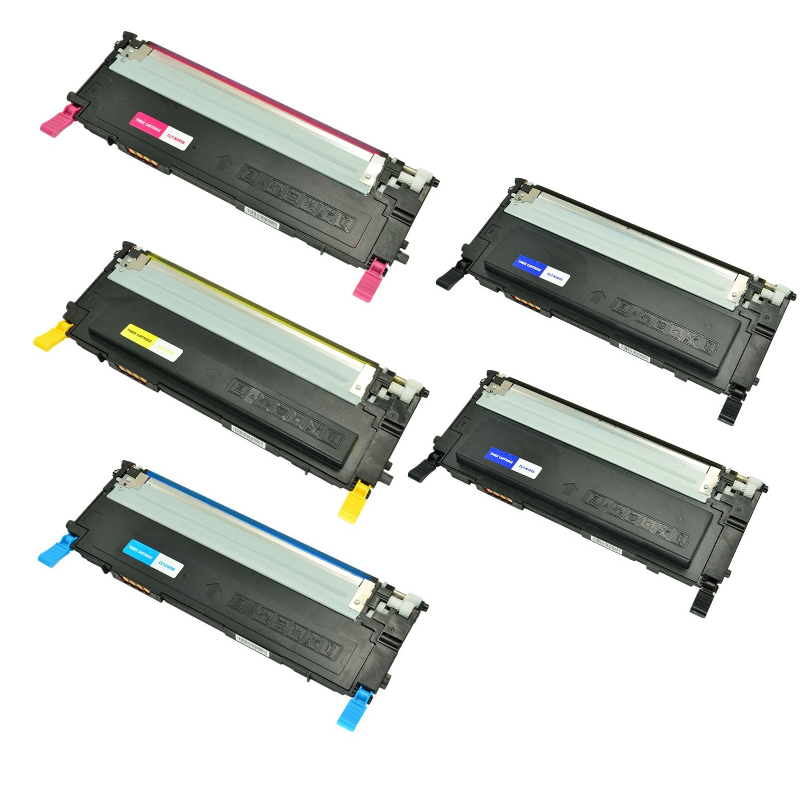 10PK CLT-K409S 409S Black Toner For Samsung CLX-3170fn 3175fn 3175fw CLP-310k