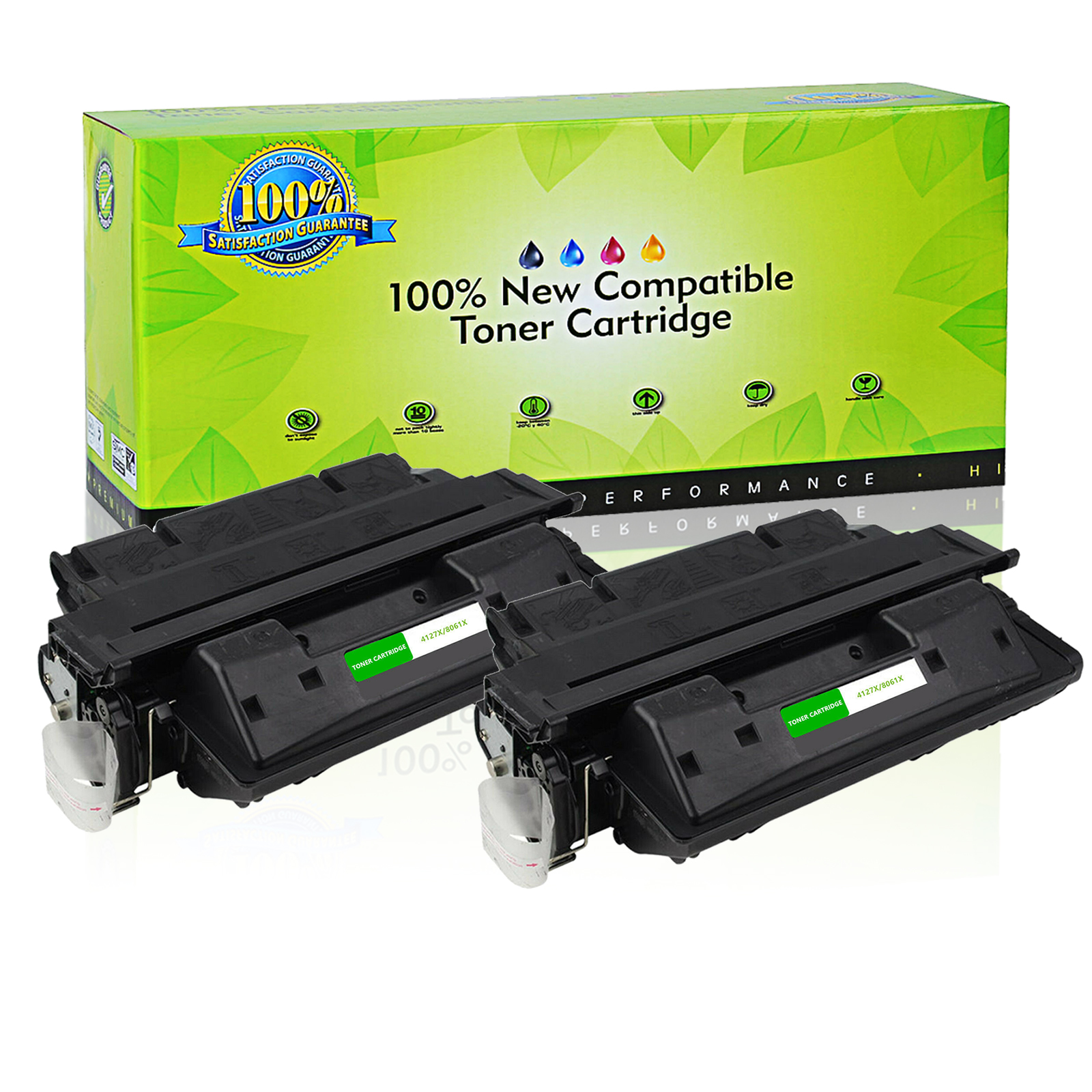 Compatible HP 61X  C8061X Black Toner Cartridge for 4100//4100N//4101MFP LaserJets