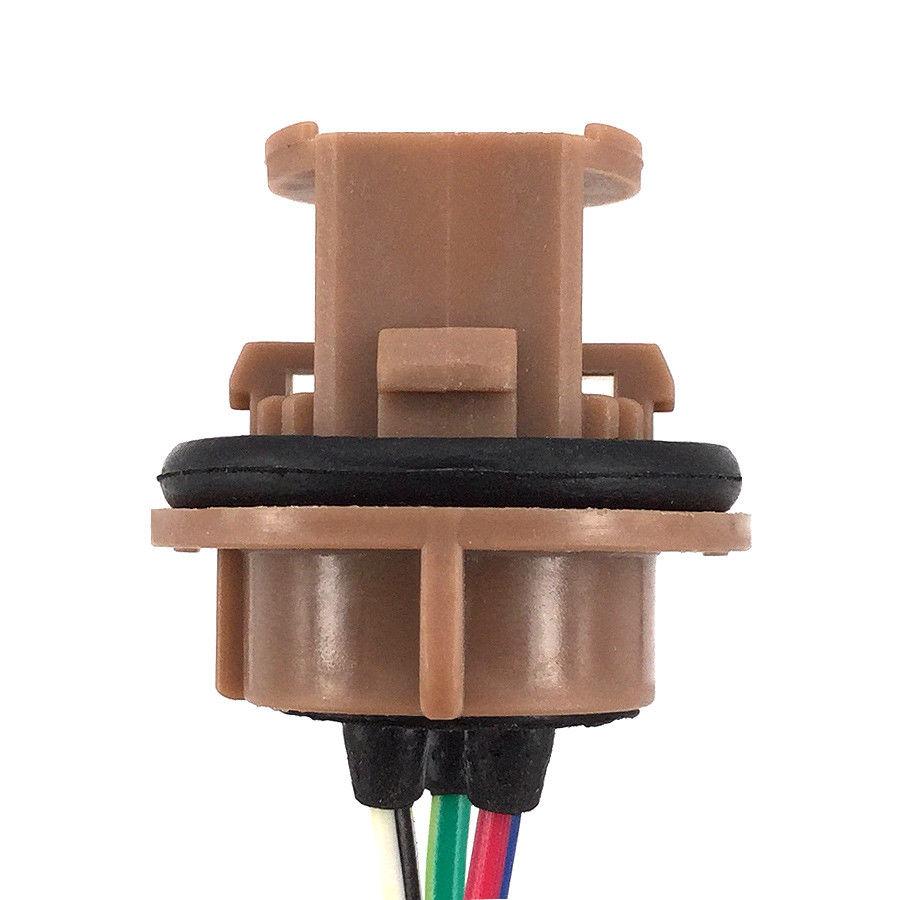 2x 7443 Bulb Socket Brake Turn Signal Light Harness Wire