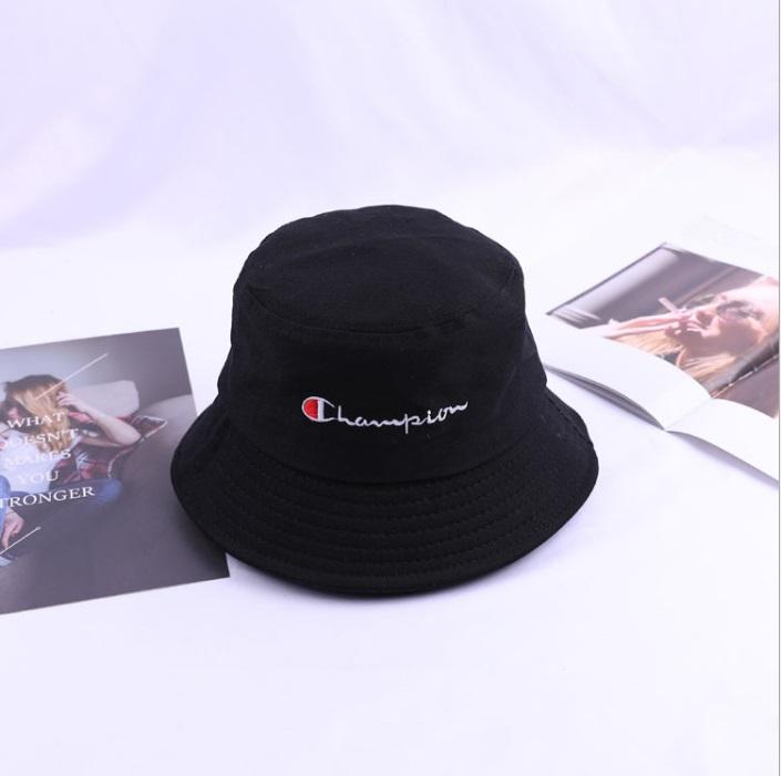 0f79d79a2cfe66 2019 New Fashion Champion-Hat Bucket Men/ Women Outdoor Fisherman's  Baseball Cap