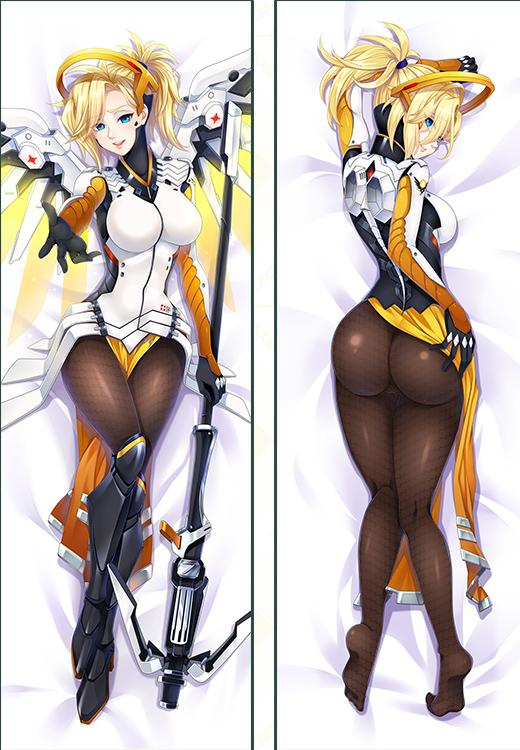 Mercy Overwatch Full Length Body Pillow