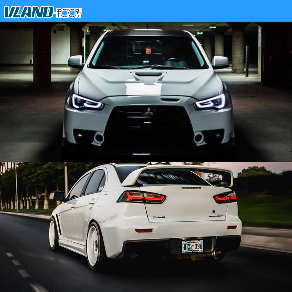 Audi Look Headlights Tail Lights For 2008 2017