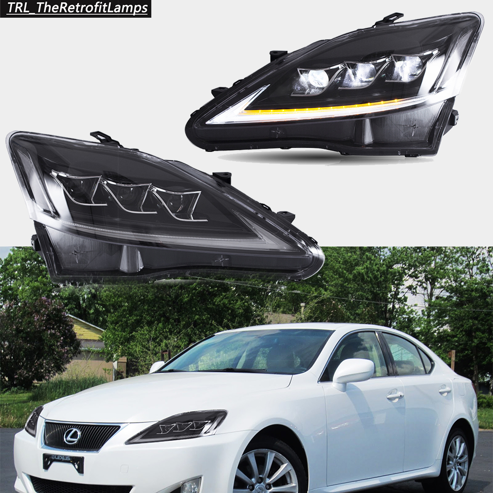 Led Drl Headlights For Lexus Isf Is250 Is350 2006 2012