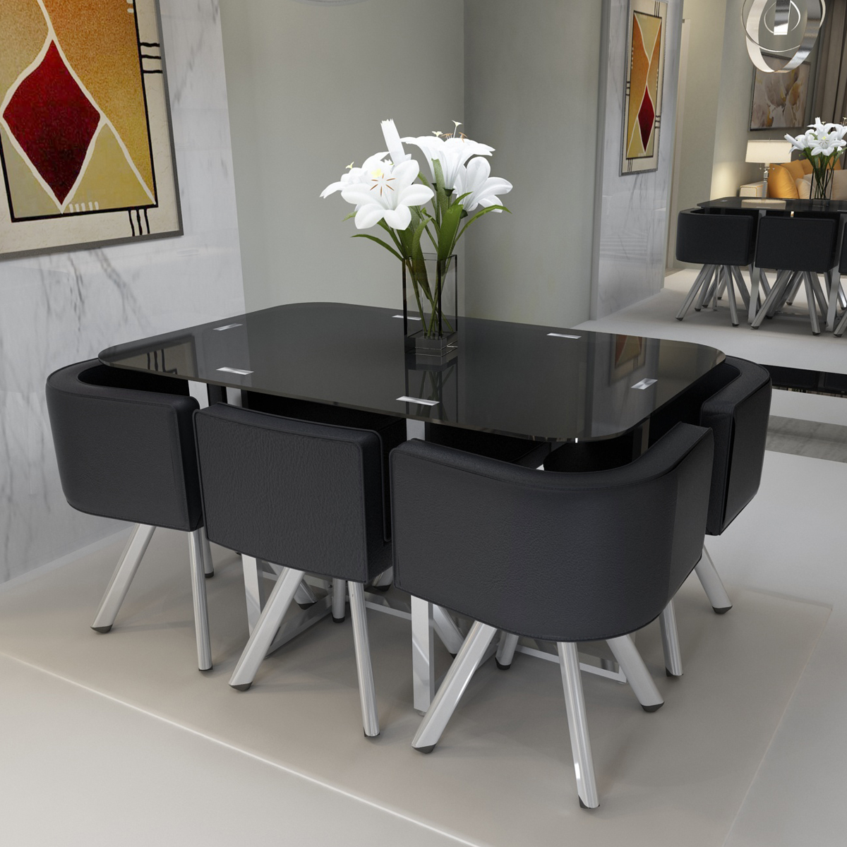 Space Saving Dining Table